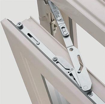 Установка защелки на балконную дверь